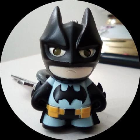 Llavero con luz Batman