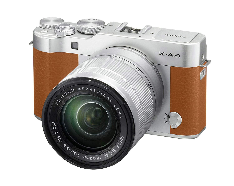 Fujifilm X-A3 Camel - Cámara Evil de 24 MP