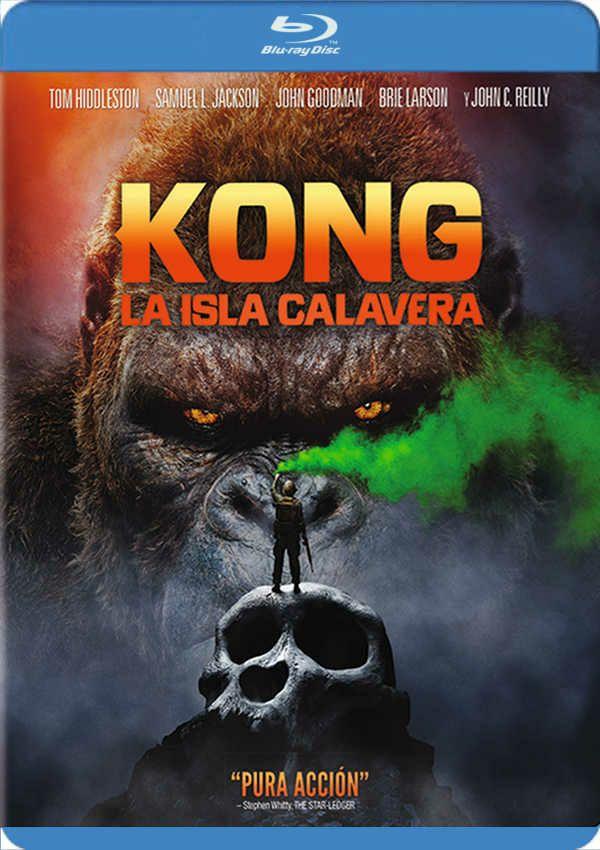 Kong La Isla Calavera Blu-ray
