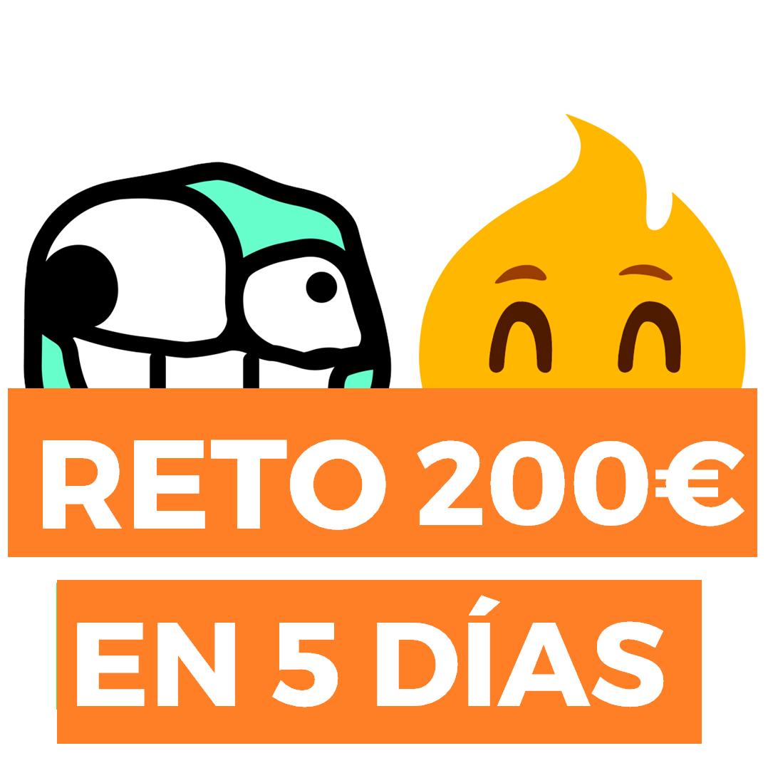 El Reto de los 200€ en 5 días SIN RIESGO