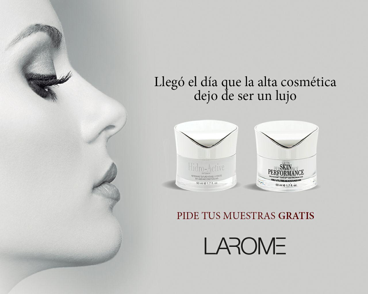10,000 muestras 3 productos Larome (Sampling)