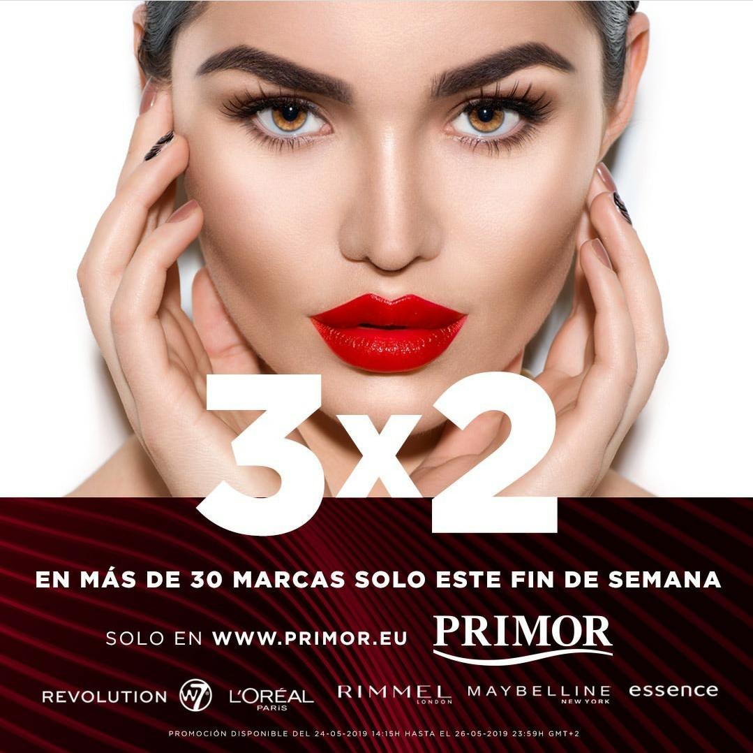 3x2 en Primor en marcas seleccionadas