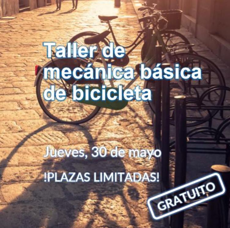 SALAMANCA (30/05): Taller para aprender la mecánica básica de la bicicleta (GRATIS)