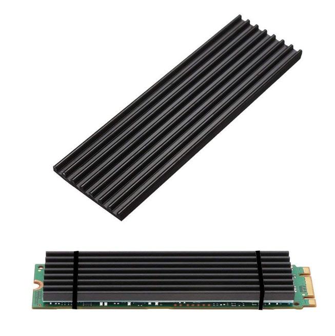 Refrigerador de aluminio con almohadilla térmica para NVME M.2 PCI-E SSD