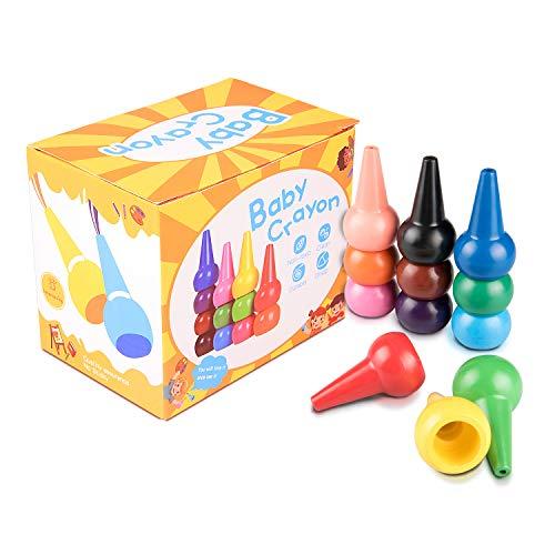 Lapices de colores lavables y no toxicos en forma de juguetes