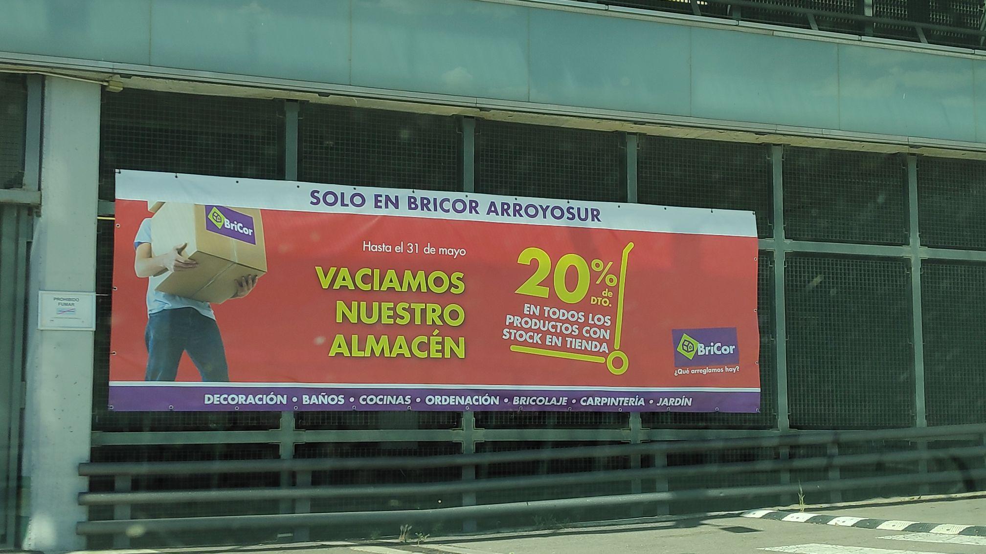 20% descuento Bricor (Bricor arroyosur)