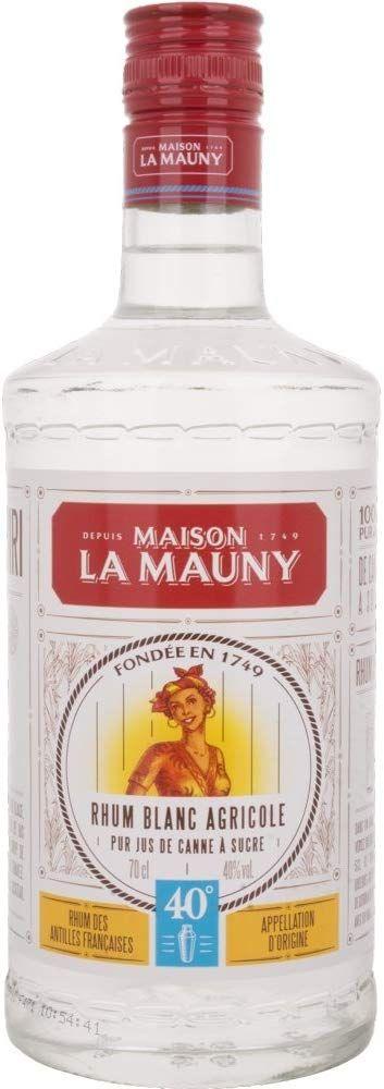 Ron blanco agrícola Maison La Mauny - 700 ml.