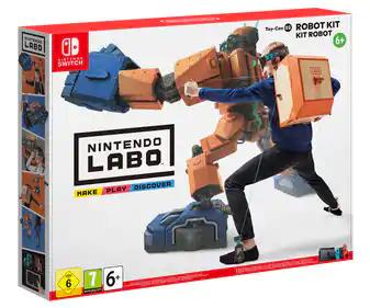 Nintendo Labo 02 — Robot (Alcampo, Marratxí, Mallorca)