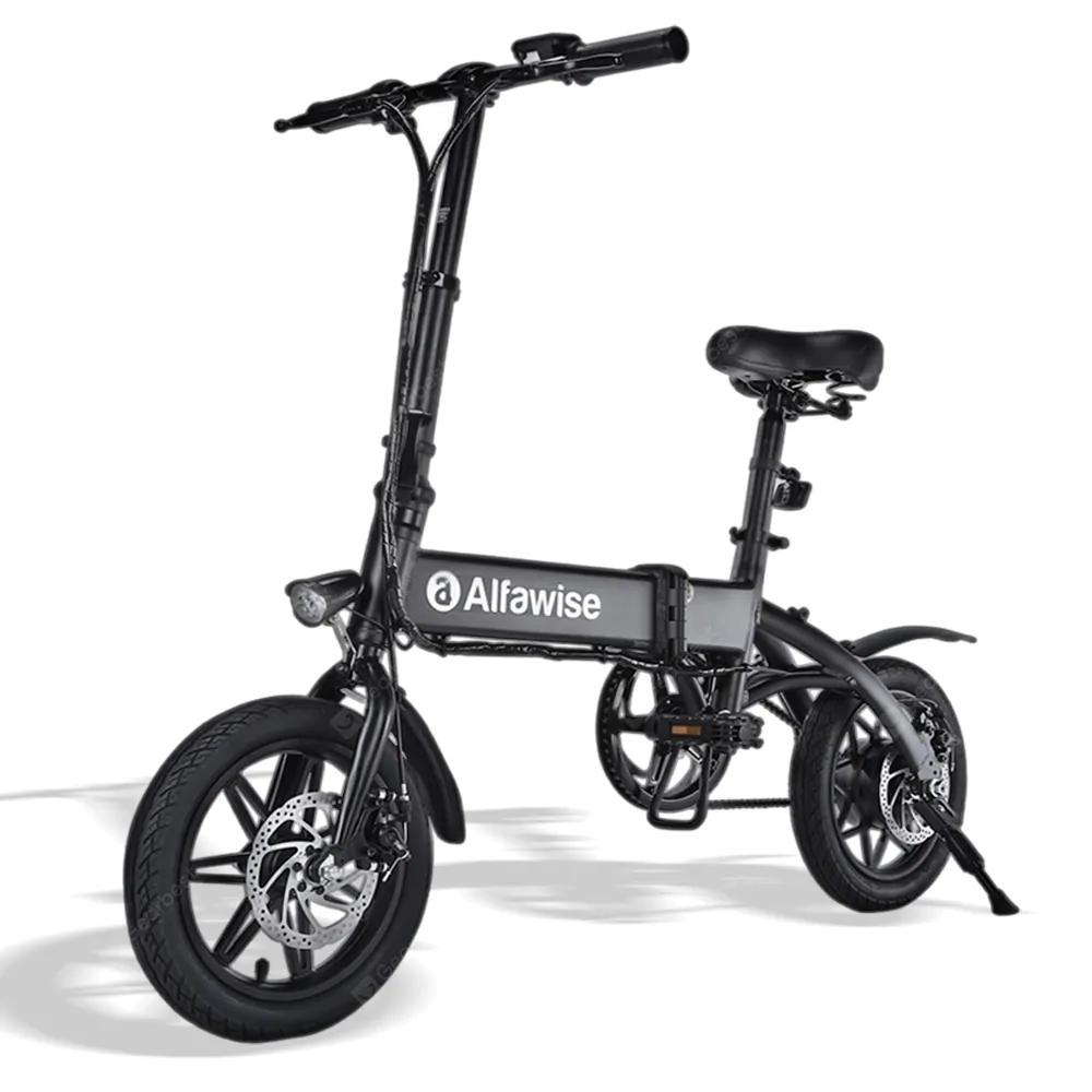 Alfawise X1 Bicicleta eléctrica plegable