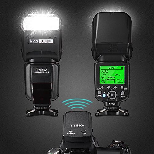 Flash Tycka Profesional I-TTL Luz con control remoto inalámbrico 2.4G para Nikon