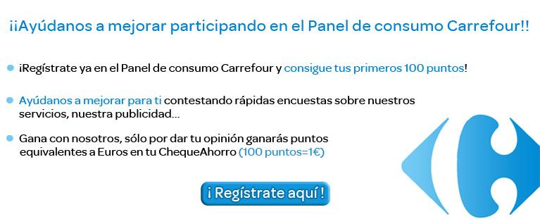 Gana dinero en Carrefour + 1€ solo por registrarte