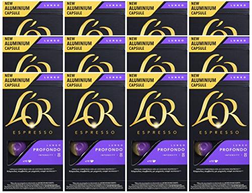 12 Packs L'Or Espresso Lungo Profondo (Nespresso)