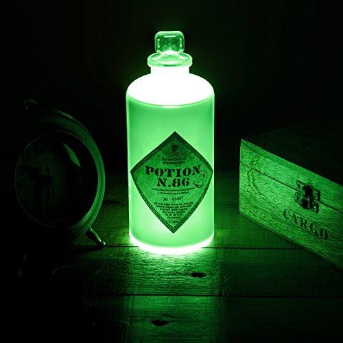 Harry Potter LAMPARA 3D Potion Bottle, Verde