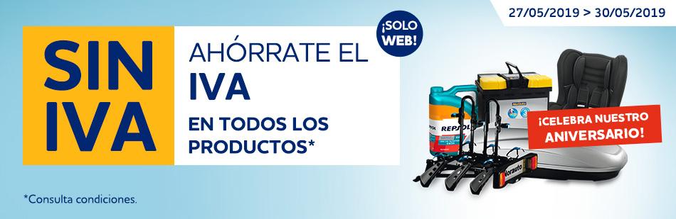 Dias SIN IVA en Norauto (Sólo Web)