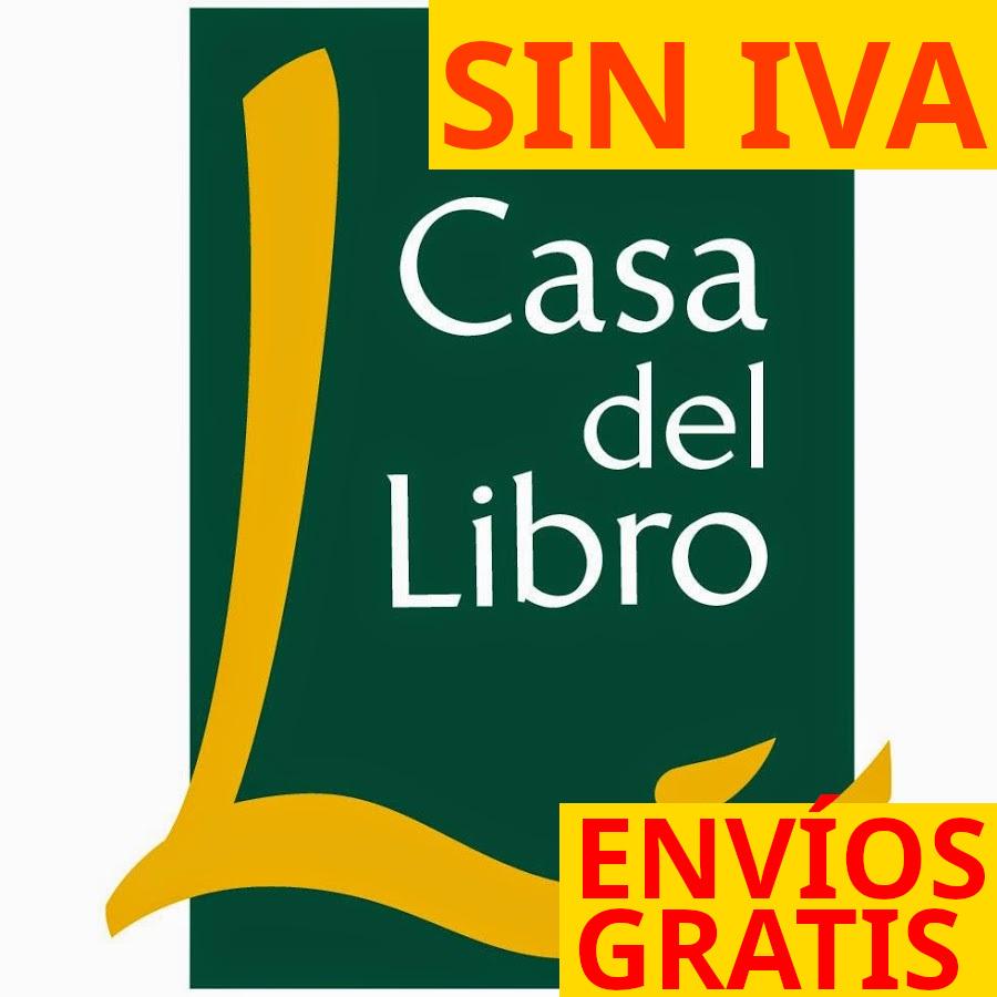Casa del Libro día sin IVA - Gasto envío GRATIS