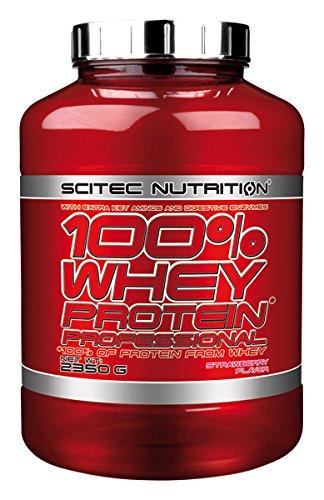 Scitec Nutrition Whey Protein Professional proteína fresa 2350 g