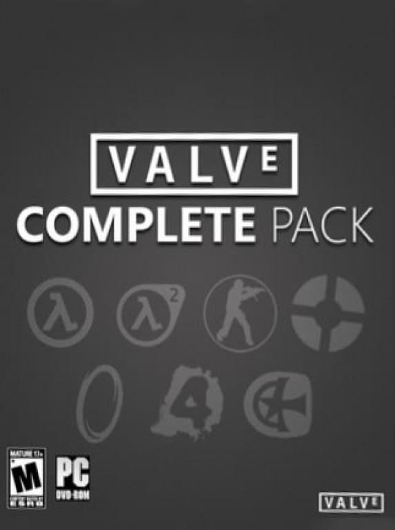 PC: VALVE COMPLETE PACK DE 19 JUEGOS  (STEAM)