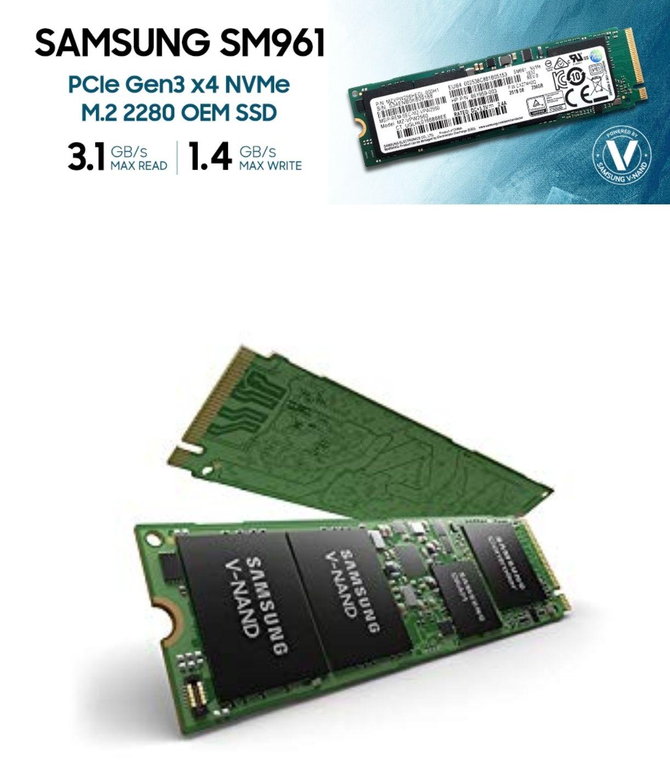 Samsung SSD NVMe 256GB SM961