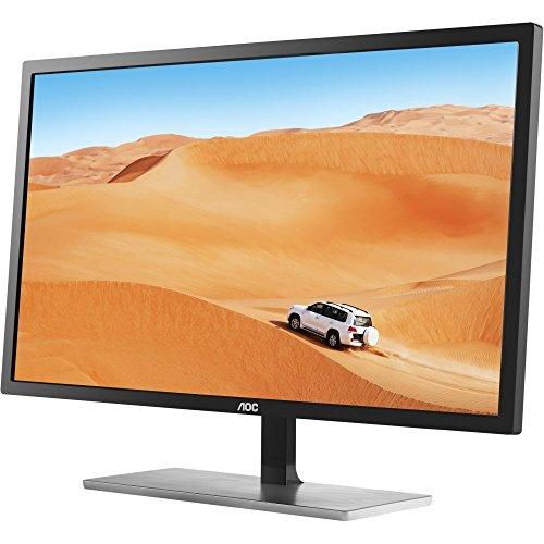 """AOC Q3279VWF 31.5"""" Quad HD MVA Negro, Plata pantalla para PC"""