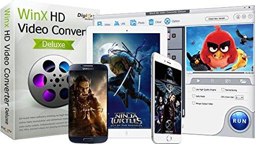 Licencias gratis para WinX HD Video Converter Deluxe (Windows) y MacX Video Converter Pro (macOS)