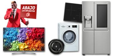 Día sin IVA en worten (Gran electrodoméstico, TV y Aspiración)