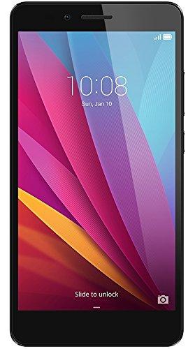 "Honor 5X - Smartphone libre de 5.5"" Dual SIM (Bluetooth 4.1, 1.5 GHz Octa-Core, Qualcomm, 2 GB de RAM, 16 GB de memoria interna, cámara de 13 MP/5 MP, LTE, Android 5.1), color gris"