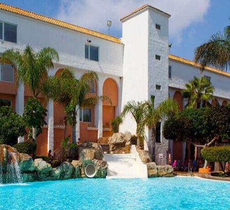 7 noches de vacaciones en hotel 4* en Roquetas de Mar por 122€/p
