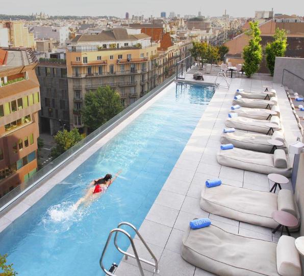 Hotel 5* en  Barcelona por 34€ p.p./noche
