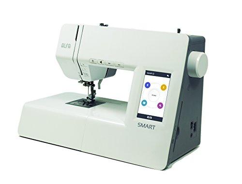 Alfa SMART - Máquina de coser electrónica (pantalla táctil con tutoriales, 70 puntadas)