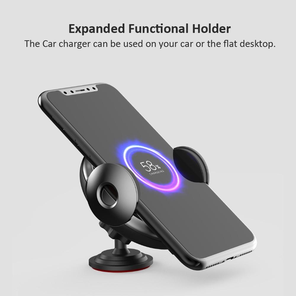 Cargador de coche inalámbrico rápido Xiaomi Mijia Shunzao