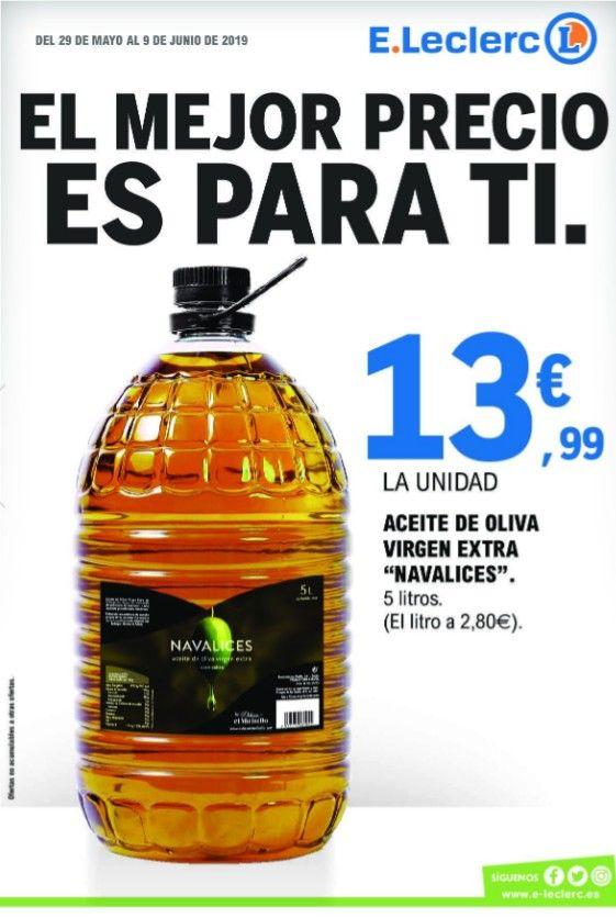 Garrafa 5L. Aceite Virgen Extra en Madrid