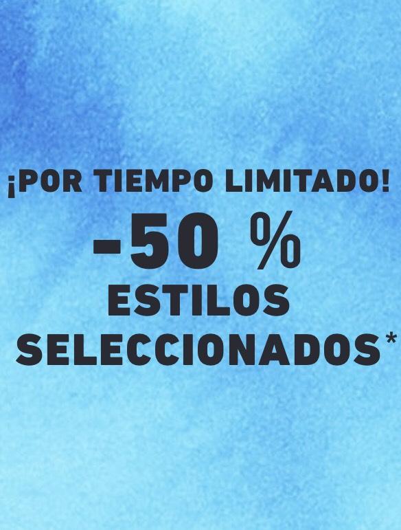 50% de descuento en Hollister + 10€ cuentas nuevas