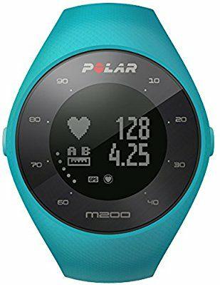 Reloj pulsómetro GPS M200 Polar  Azul