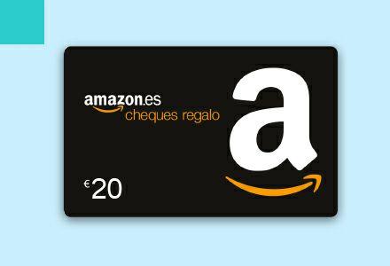 Cheque Amazon 20€ con BBVA