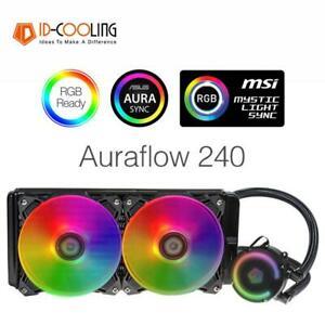Idcooling auraflow 240 ventilador CPU de agua para Intel Lga Amd