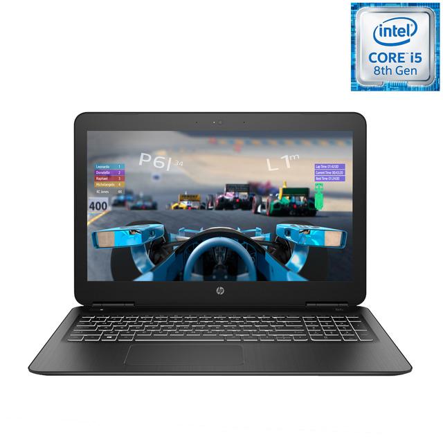 Portátil HP i5-8300H, GTX 1050 4Gb, 1Tb + 128Gb SSD, 8Gb RAM, pantalla SVA FullHD