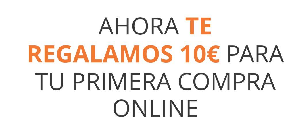 10€ en la primera compra online en Supermercado El Corte Inglés