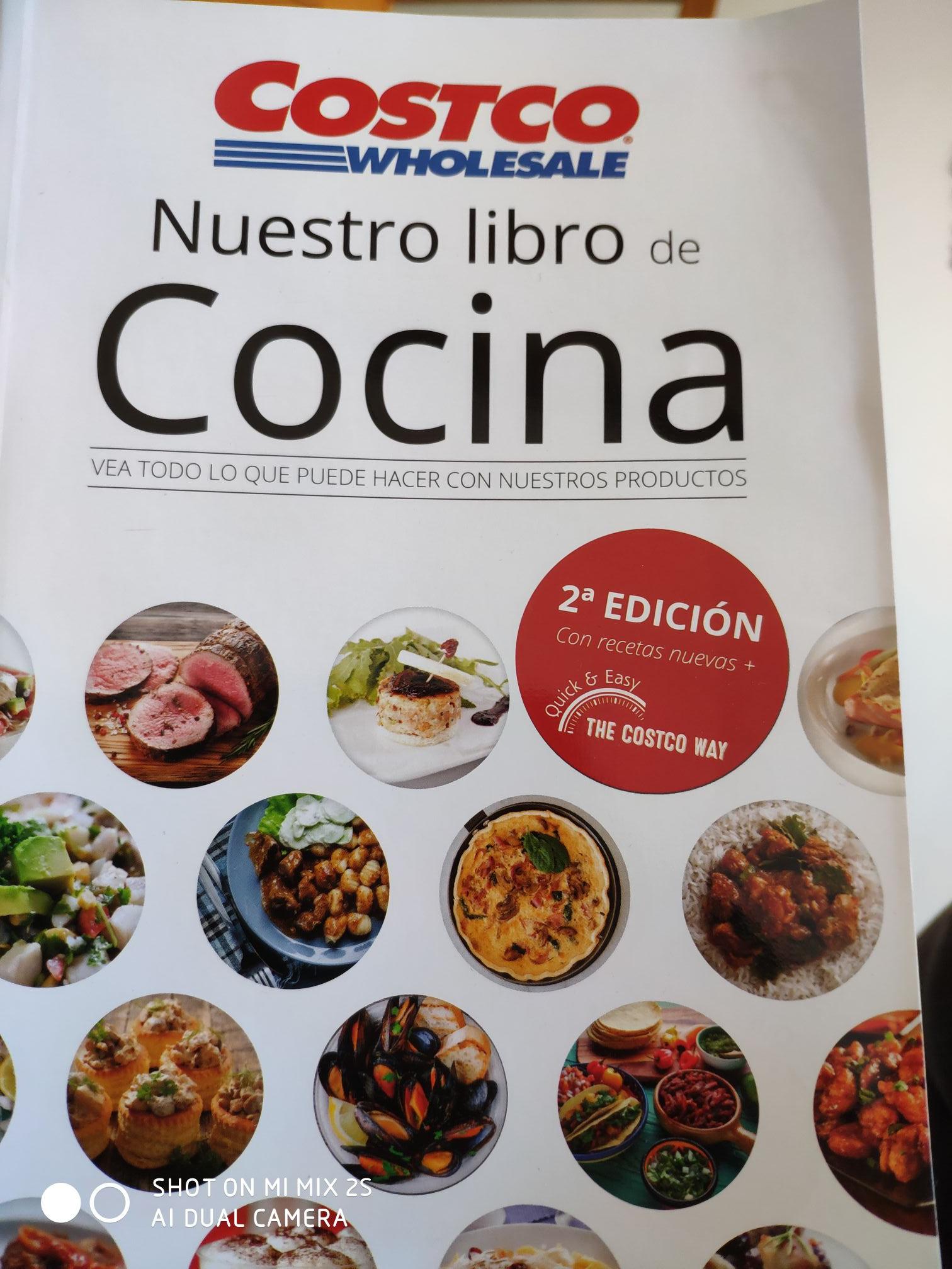 Libro de recetas gratis (Costco)