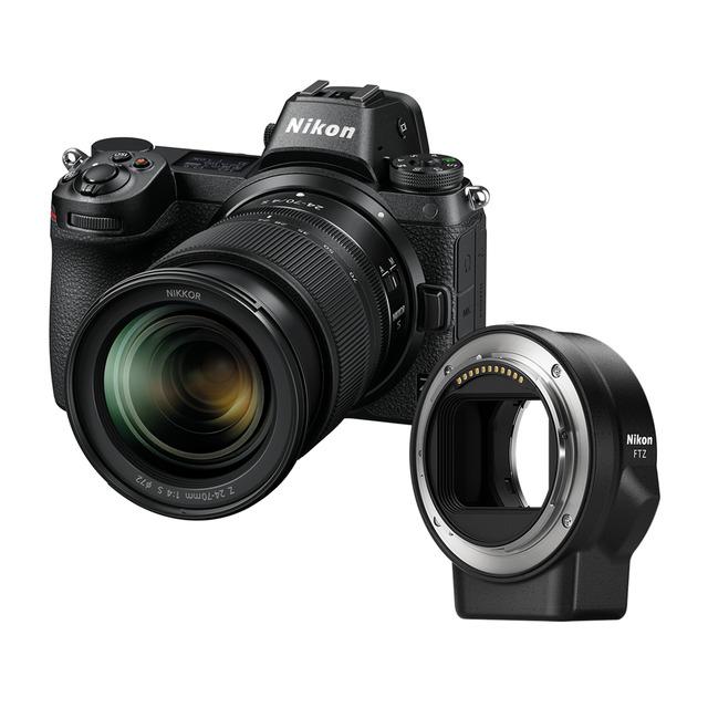 Cámara Evil Nikon Z6 Kit + 24-70MM + Adaptador FTZ
