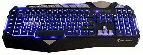 Teclado gaming retroiluminado ThunderX3 TK25