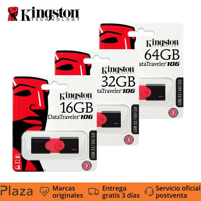 Memoria USB 3.0 Kingston DataTraveler 106 desde sólo 4,72€