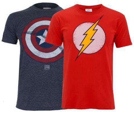 2 Camisetas Geek a elegir solo 24€