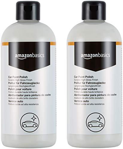 Abrillantador para pintura de coche, pack 2 botellas de 500 ml.
