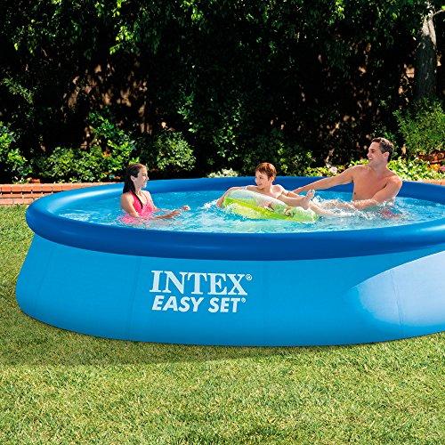 Piscina hinchable Intex easy set 396x84 cm - 7.290 litros - 28143NP