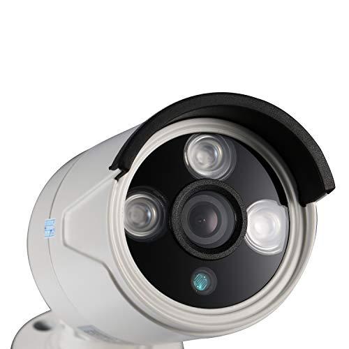 Cámara de vigilancia exterior - Con visión nocturna