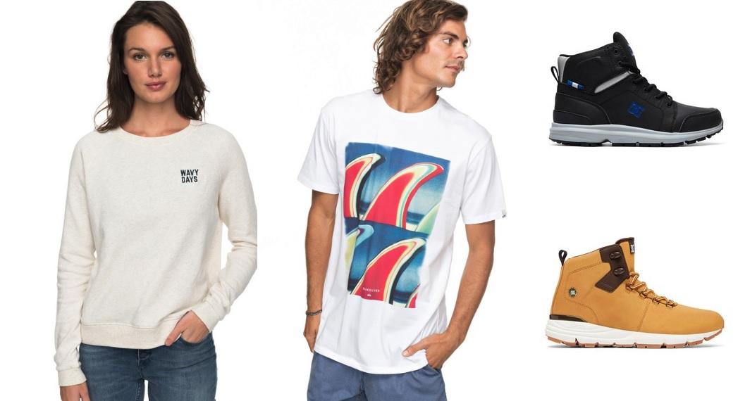 -30% añadidos sobre todas las ofertas - Quiksilver / Roxy / DC Shoes
