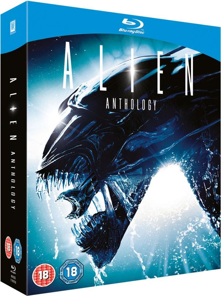 Anthología de Alien Blu-ray