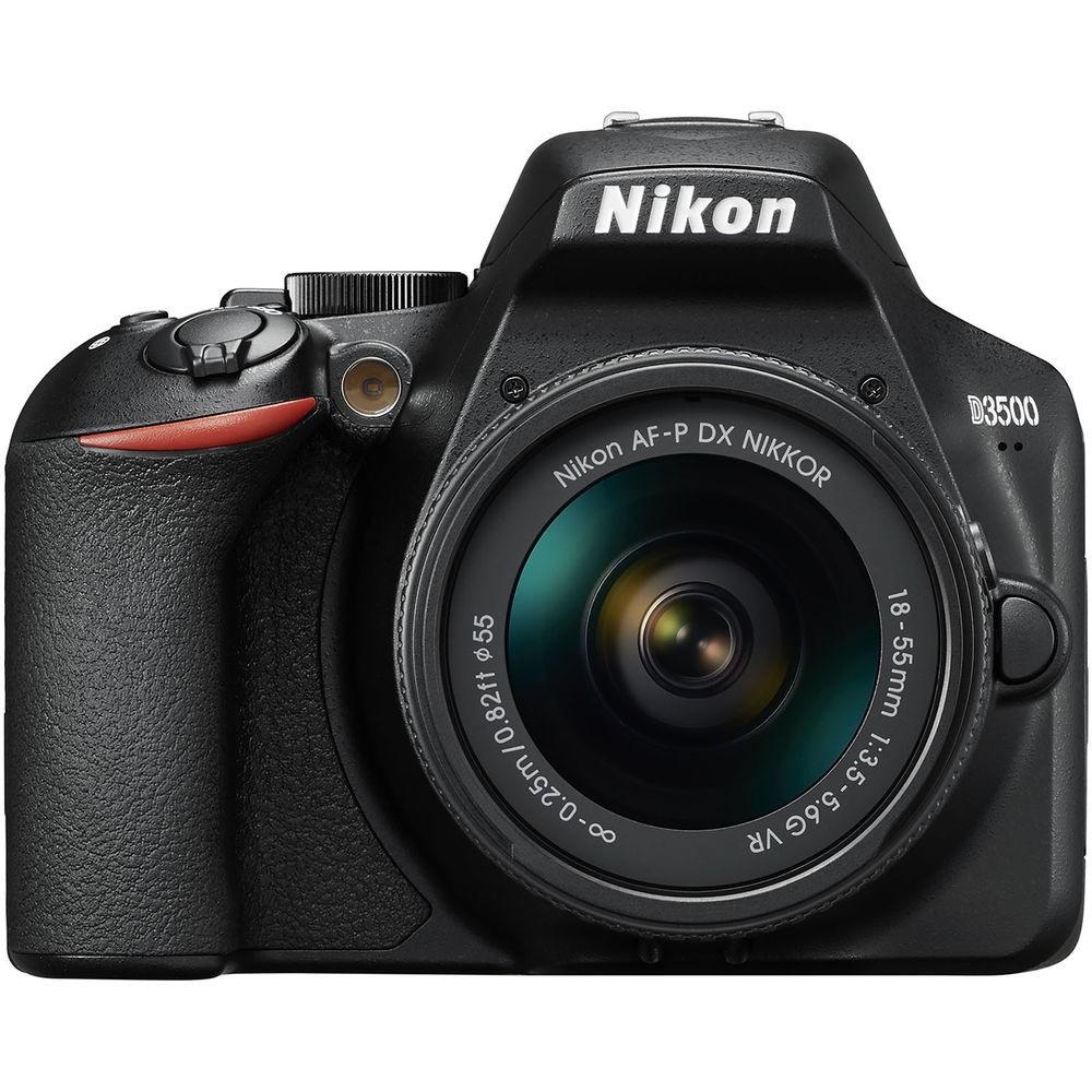 Nikon D3500 DSLR con Objetivo AF-P DX 18-55mm f/3.5-5.6G VR