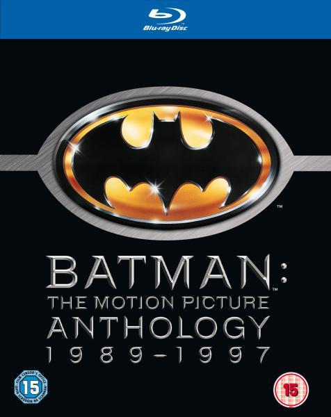 Batman Anthology Blu-Ray