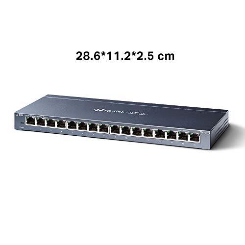 TP-Link TL-SG116 Gigabit Ethernet de 16 Puertos